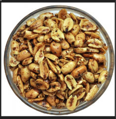 Black Pepper Peanuts (Surati)- 300 GM