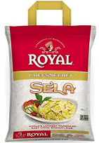Chef's Secret SELLA (X-LONG Parbolied) Rice (Royal) - 10 LB