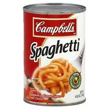 Spaghetti in Tomato Sauce with Cheese (Campbell's) - 403 GM