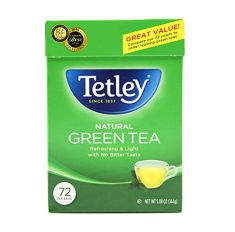Tetley Green Tea- 72 Bags