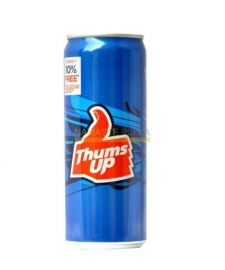 Thums Up Indian Soda Can - 300 ML