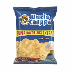 Plain Salted Uncle Chips (Lays) - 55 GM