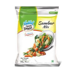 Frozen Sambar Mix (Vadilal) - 312 GM