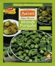 Frozen Meal Kit- Bhindi Punjabi (Surati) - 568 GM