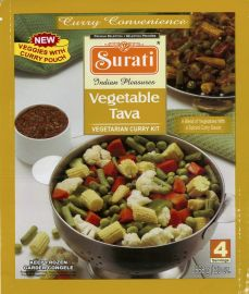 Frozen Meal Kit - Vegetable Tava (Surati) - 568 GM