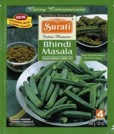 Frozen Meal Kit - Bhindi Masala (Surati) - 568 GM