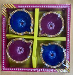 Decorative Diya Set of 4 Pcs